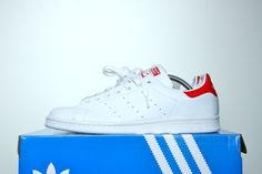 663bf67030ffb Adidas Stan Smith (Red Heel) Adidas Stan Smith Red