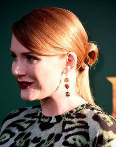 Bryce Dallas Howard Lookbook: Bryce Dallas Howard wearing Red Lipstick (9 of 28). Bryce Dallas Howard went sexy with her beauty look, choosing a bold red hue for her lips.