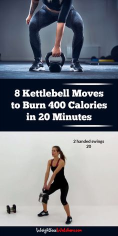 Studies show that working out with kettlebells can burn about 20 calories per minute! Learn how maximize your workout, boost your metabolism, and burn more fat quickly. Grab a kettlebell and give this fat-burning circuit a trial. #kettlebellworkouts #fatburning #burncaloriesfast