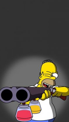 Homer Simpson #iphone #wallpaper