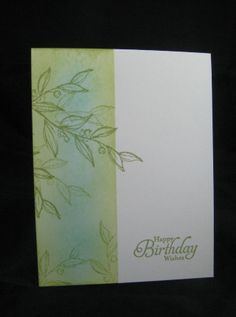 One Layer Card -Stampin' Up Simply Sketched       by Miechelle Weber www.stampinu.wordpress.com