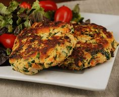 Sweet Potato and Kale Chicken Patties  #justeatrealfood #multiplydelicious