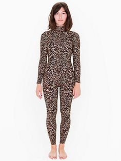 f96e87d1afe American Apparel catsuit More White Turtleneck