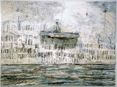 ANSELM KIEFER Merkaba, 2002 Oil, emulsion, acrylic and lead objects on canvas 110 x inches x 380 cm) Photo: Tom Powel Anselm Kiefer, Statues, Gagosian Gallery, Wassily Kandinsky, Equine Art, Pencil Portrait, Vincent Van Gogh, Abstract Landscape, Abstract Art