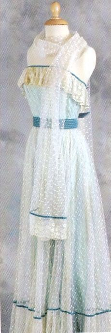 A dress worn by Diana before her engagement