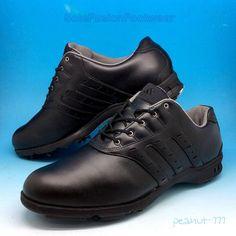 adidas Mens Z-Traxion Golf Shoes Black sz 11 Rare VTG adiPure Sneaker US 11.5 46  | eBay
