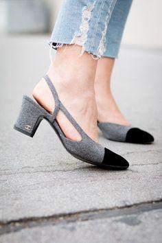 86f19b93a Slingback5 Armário De Sapatos, Sapatos Coloridos, Tipos De Sapatos, Sapatos  Lindos, Sapatos