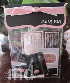 Mary Kay Pink/cute gift idea for a hostess