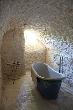 My dungeon bathroom. This is where the servants can bathe