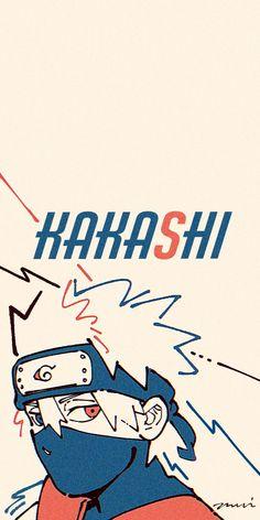 Naruto Kakashi, Naruto Shippuden Sasuke, Manga Naruto, Wallpaper Naruto Shippuden, Naruto Cute, Manga Anime, Boruto, Kakashi Hatake Hokage, Funny Iphone Wallpaper