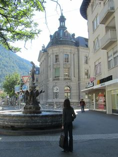the oldest Swiss town, Chur Chur Switzerland, Countryside Fashion, Round The World Trip, European Travel, European Trips, Zermatt, Swiss Alps, Wonderful Places, Places To Go