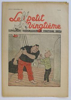 """Hergé TIM Kuifje Tintin """" """" LE Petit """"Vingtieme"""" N°50 DE 1939"""