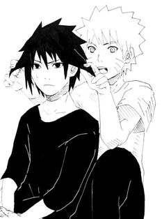 The duckbutt hair will never be tamed, no matter how hard you try, Naruto.