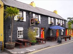 The Spaniard. Very very old pub in Kinsale, Ireland. Great experience.