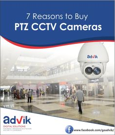 7 Reasons to Buy #PTZCCTVCameras!!! PTZ (Pan/Tilt/Zoom) #CCTVcameras provide many benefits over the standard stationary #security #surveillancecameras. From field of view to flexibility of rotation, Read more at:http://bit.ly/2pbYkYi