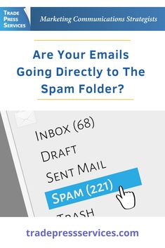 How to avoid emails going to the spam folder. Emails are one of the most relied-upon and widespread forms of business communications. In fact, 59 percent of marketers say email is their most effective channel for generating revenue. Marketing Communications, Email Marketing, Content Marketing, Digital Marketing, Marketing Process, Commercial Advertisement, Email Campaign, Spam, Channel