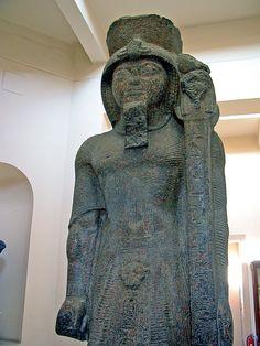 Statue in the Greco-Roman Museum, Alexandria, Egypt