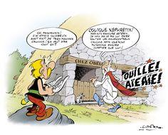 Astérix - News - Neuigkeiten - Asterix ist zurück in einer coolen Zeichnung aus der Feder von Uderzo!