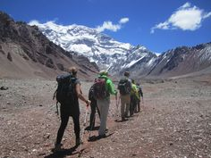 Horcones Valley, Aconcagua Normal Route.  © 2012 Andes Mountain Guides