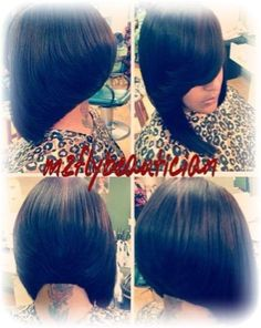 Her bob is giving me life! #StylesbyMzFlyBeautician
