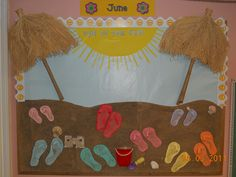 bulletin board ideas for summer for preschool | PreSchool Curriculum & Bulletin Boards - Guylaines Playhouse Day Care