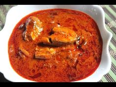 Andhra Spicy Fish Curry Recipe / Andhra Chepala Pulusu Recipe - Yummy Tummy - New Ideas Veg Recipes, Curry Recipes, Light Recipes, Seafood Recipes, Cooking Recipes, Recipies, Lobster Recipes, Cooking Rice, Vegetarian Recipes