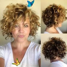 Welcome to blog #curly hair hairstyles youtube #curly hairstyles chin length #jerry curl hairstyles #curly hairstyles long face #guys with curly hairstyles #curly hairstyles 2020 female #curly hairstyles and color #curly hairstyles professional<br> Short Curly Cuts, Haircuts For Curly Hair, Curly Hair Cuts, Long Curly, Thin Hair, Long Bob, Bob Styles, Short Hair With Perm, Short Hair For Curly Hair