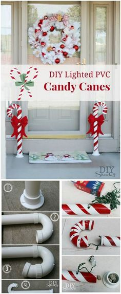 In this post, I have brought so many wonderful DIY outdoor Christmas decorations for you to try. All of them are inexpensive and easy to make. # DIY Home Decor inexpensive 21 Cheap DIY Outdoor Christmas Decorations Diy Christmas Lights, Decoration Christmas, Christmas Yard, Simple Christmas, Christmas Holidays, Christmas Ornaments, Decorating For Christmas Outdoors, Outdoor Xmas Decorations, Christmas Vacation