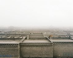 Beicheng Xin Cun, Pingyao, Shanxi Province, 2004 by Sze Tsung Leong Photography Gallery, Color Photography, Urban Photography, Chinese Architecture, Art And Architecture, History Images, World Pictures, London Photos, Medieval Town