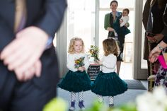 Eclectic Quirky & Home Made Emerald Green Barn Wedding Green Barn, Jewel Tone Wedding, Jewel Tones, Emerald Green, Whimsical, Ballet Skirt, Pretty, Flower Girls, Inspiration