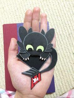 how to train your dragon bookmark - Cerca con Google