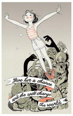 "Alejandra Lunik - ""The Girl Effect"""