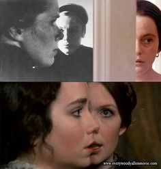 Ingmar Bergman's Persona and Cries and Whispers (top) and Love and Death.