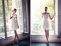 Die schönsten kurzen Brautkleider der Saison 2015 - hier: Felicita.