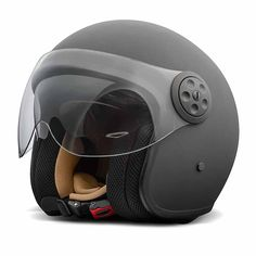 Premier Jet Vintage Double Visor Helmet - U9BM Matt Black | Motorcycle Helmets | FREE UK delivery - The Cafe Racer