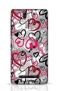 Love-Print Sony Xperia C3 New Phone Case