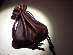 Leather Drawstring Pouch Bag, Sack Bag, Handmade Leather Pouch, Brown by Shirlbcreationstoo on Etsy Leather Pouch, Leather Men, Mens Leather Accessories, Leather Bags Handmade, Handmade Bags, Sack Bag, Drawstring Pouch, Pouch Bag, Backpack Bags