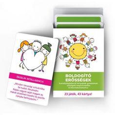 Boldogító erősségek - Pozitív énképet és önbizalmat erősítő kártyacsomag