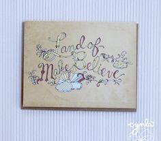 Land of Make Believe Storybook Card  Blank