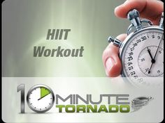 Incredible 10 minute HIIT Circuit Workout with LiveExercise 10min Tornado HIIT: Episode 17