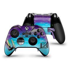 Stormy Sky Rainbow Trails Xbox One Elite Controller Skin Fortnite Fan Art