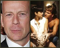 Espressogossip - Actors Who Passed Up On Iconic Roles Photos) Movie Plot Holes, Patrick Swayze, Fantasy Films, Bruce Willis, Real Life, Fun Facts, Romantic, Actors, Demi Moore