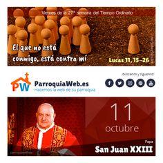 Lucas 11, Juan Xxiii, Movies, Movie Posters, San Juan, Prayers, Dios, Films, Film Poster