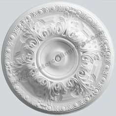 Large Acanthus Leaf Plaster Ceiling Rose 720mm LPR003 - not as decorative as old one but nice size!