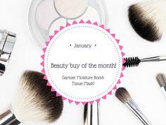 Beauty buy of the month - Garnier Moisture Bomb Tissue Mask