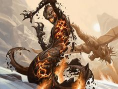 Roast - Dragons of Tarkir MtG Art