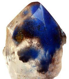 Papagoite, Limonite and Copper in Quartz