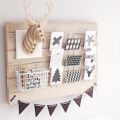 wooden board decoration