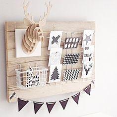 wooden board decoration