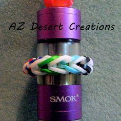 Rubber Band Fishtail Tank Bumbers Vaping Tank Bumbers Handmade | DesertCreations - Accessories on ArtFire